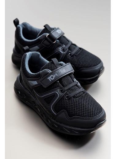 Tonny Black Siyah Çocuk Spor Ayakkabı Tb3401-3 Siyah